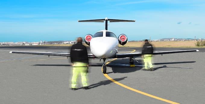 Aircraft handling - FBO Paris Le Bourget