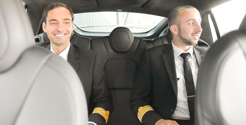 Navette équipage pour pilotes - FBO Paris Le Bourget