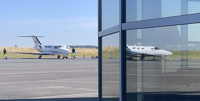 Aircraft handling - Aircraft parking - FBO Paris Le Bourget