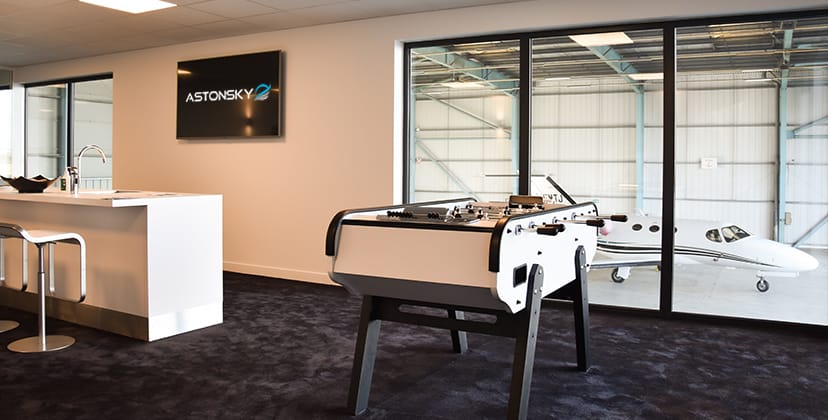 Crew support - Crew lounge - FBO Paris Le Bourget
